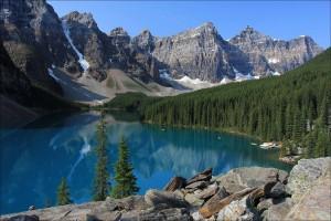 Moraine Lake, Banff National Park, Imagea.org. CC bit.ly1CmncYR