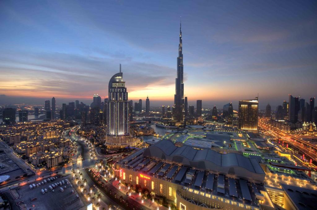 DUBAI LANDMARKS  - Downtown Dubai