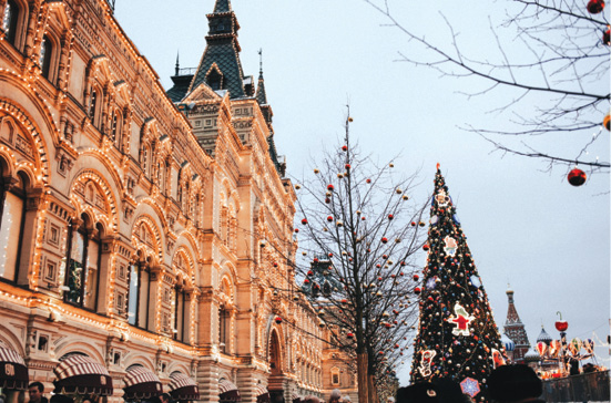 Immerse yourself in an Eastern European Christmas