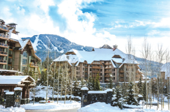 Luxury hotels in Canada